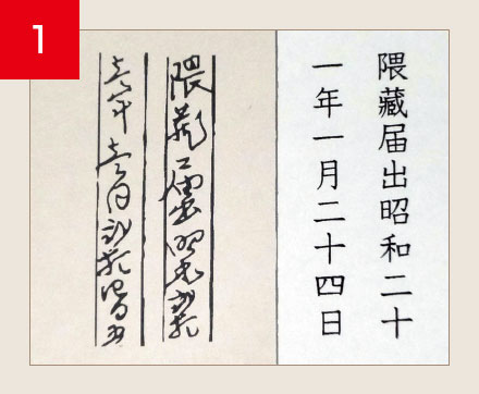 家系譜の文字イメージ